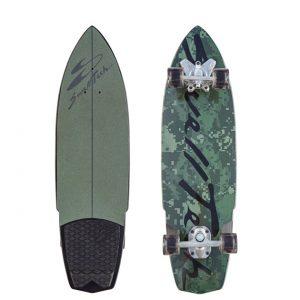 Hybrid camo swelltech surfskate