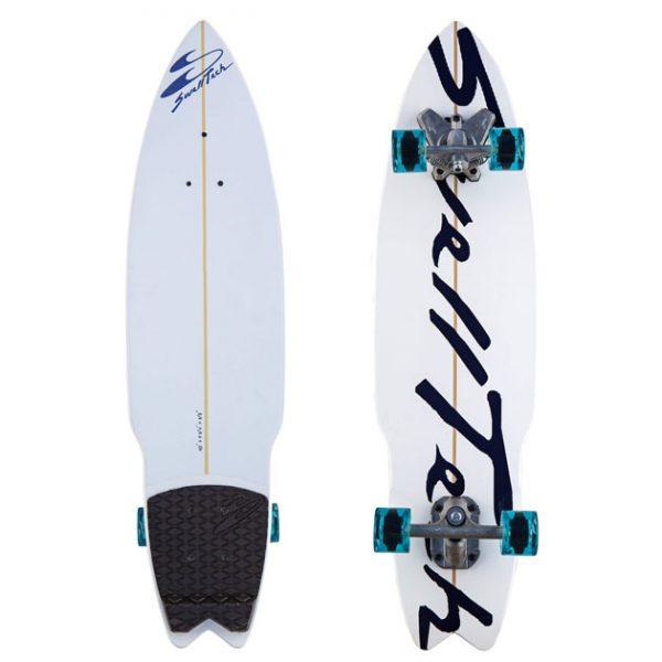 Premiere navy swelltech surfskate