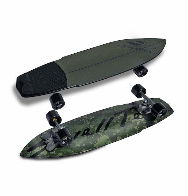swelltech surfskate hybrid camo